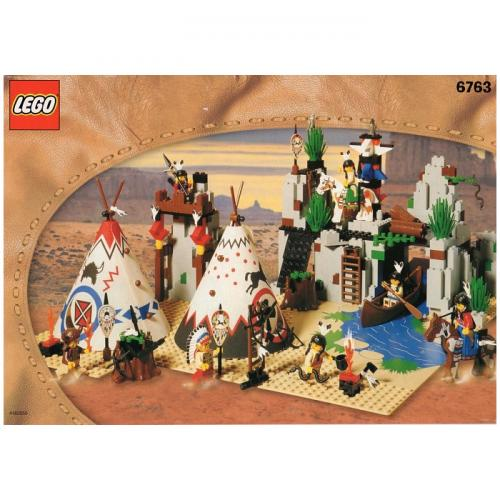 LEGO 6763 Rapid River Village - Yasuee