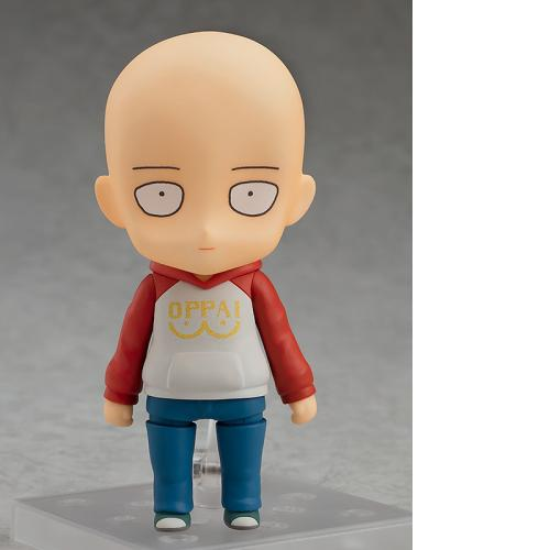Good Smile Nendoroid 1081 ONE-PUNCH MAN Saitama: OPPAI Hoodie Ver Figure WF LTD