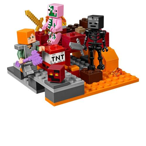 LEGO 21139 Minecraft The Nether Fight - Yasuee