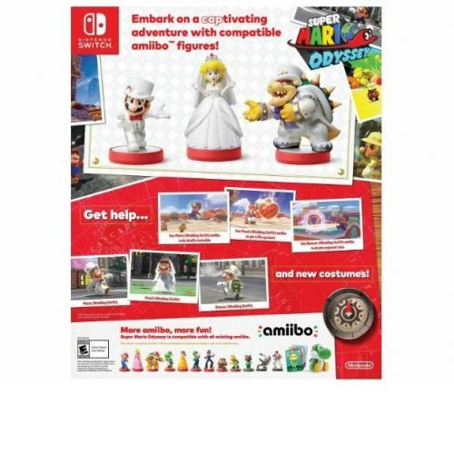 Limited offer Nintendo Amiibo BOWSER WEDDING Style SUPER MARIO ODYSSEY Switch Wi