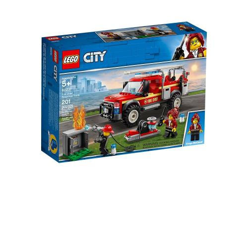 LEGO 60231 City Fire Chief Response Truck - Yasuee