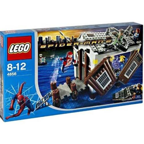 LEGO 4856 Super Heroes Spider-Man 2 : Doc Ock's Hide-Out - Yasuee