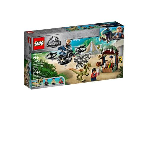 LEGO 75934 Jurassic World Dilophosaurus on the Loose - Yasuee