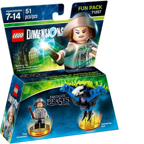 LEGO 71257 LEGO Dimensions Fantastic Beasts Tina Goldstein Fun Pack - Yasuee