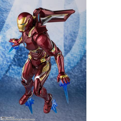 Bandai S.H.Figuarts Marvel Avengers 4 Iron Man Mark 50 Nano Weapon Set 2 Figure