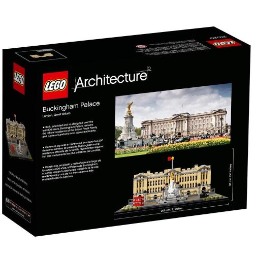 LEGO 21029 Architecture Buckingham Palace Landmark