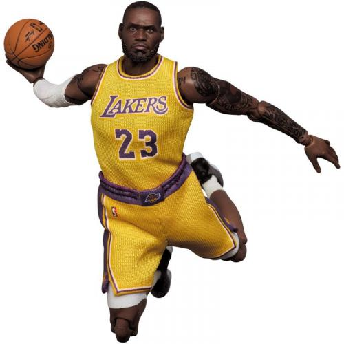 Medicom Toy MAFEX No.127 MAFEX LeBron James (Los Angeles Lakers)