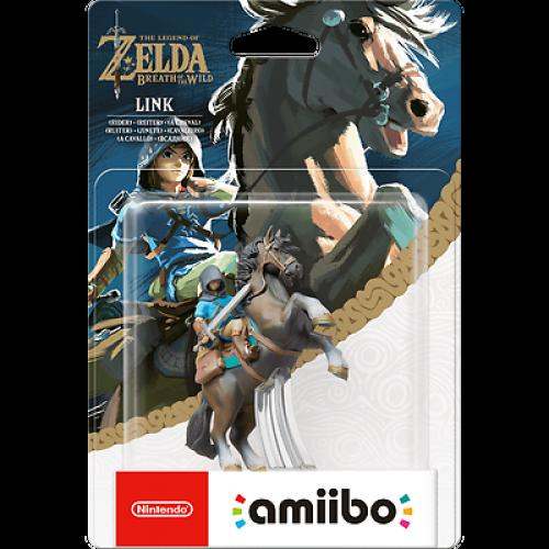 Limited offer Nintendo Amiibo Legend Of Zelda Breath Wild Link Rider Switch Wii