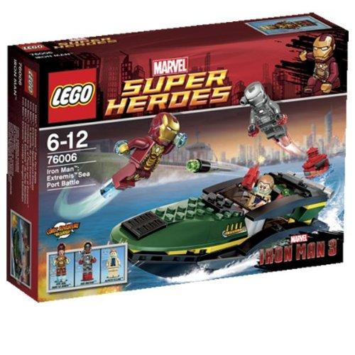LEGO 76006 Super Heroes Marvel's Iron Man Extremis Sea Port Battle - Yasuee