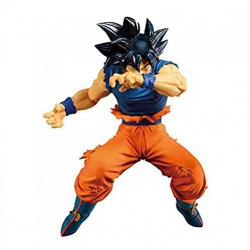 Banpresto Dragon Ball Super Blood of Saiyans Son Goku Ultra Instinct Sign Figure - Yasuee