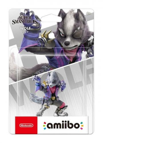 Nintendo Amiibo Ultimate Wolf SSB Super Smash Bros Series Switch Wii Rare