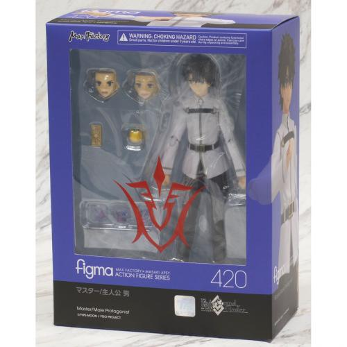 Max Factory Figma 420 FGO Fate Grand Order Master Male Protagonist Action Figure