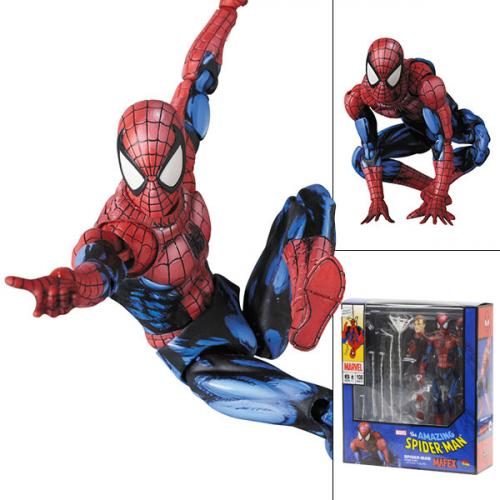 Medicom Mafex No.108 Spider-Man (Comic Paint) Action Figure - Yasuee