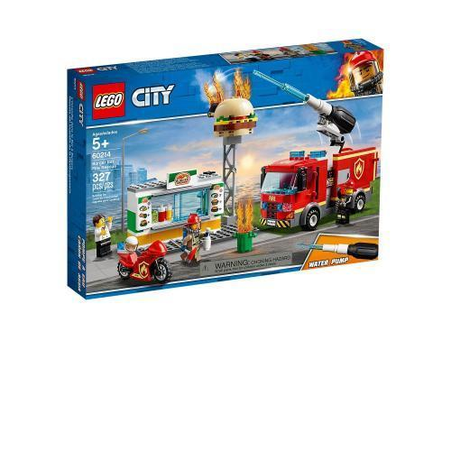LEGO 60214 City Burger Bar Fire Rescue