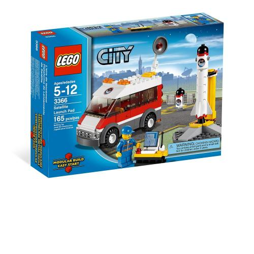 LEGO 3366 City Satellite Launch Pad - Yasuee