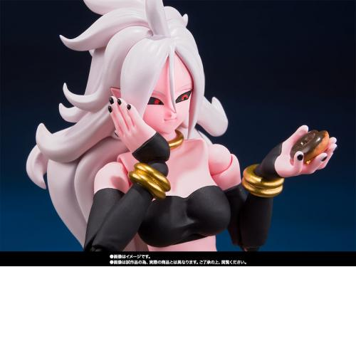 Bandai S.H.Figuarts Dragon Ball FighterZ Android 21 Action Figure Japan Ltd SHF