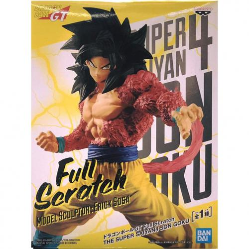 Bandai Dragon Ball GT Full Scratch Super Saiyan 4 Goku Figure