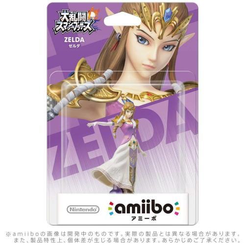 Nintendo Amiibo Zelda + Palutena + Zero Suit Samus + Tiki Set of 4 For Switch NS