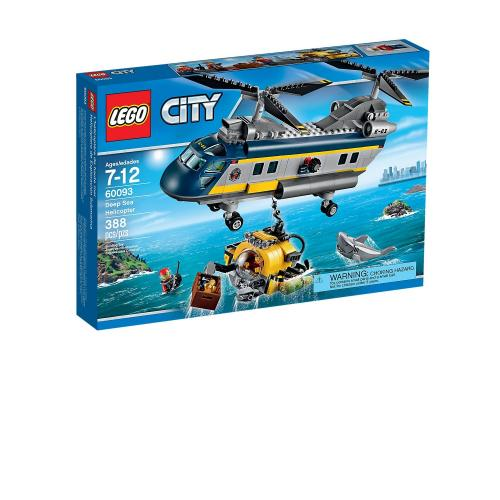 LEGO 60093 City Deep Sea Helicopter - Yasuee
