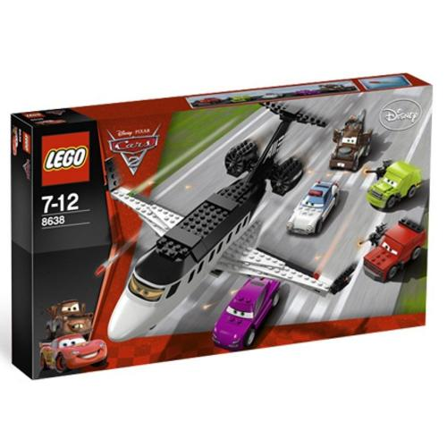 "LEGO 8638 Disney Pixar Cars 2 ""Spy Jet Escape"" - Yasuee"