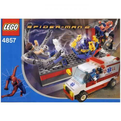 LEGO 4857 Super Heroes Spiderman Doc Ock's Fusion Lab - Yasuee