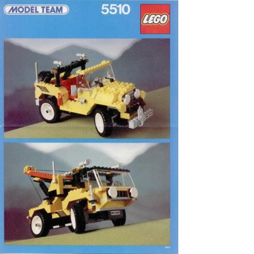 LEGO 5510 Model Team Off-Road 4 x 4 - Yasuee