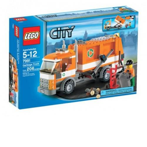 LEGO 7991 City Garbage Truck