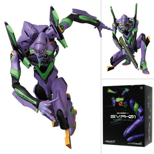 Medicom Toy RAH NEO Evangelion Unit-01 Eva 01 (New Color Ver.) Action Figure - Yasuee