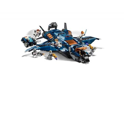 LEGO 76126 Marvel Super Heros The Avengers : Avengers Ultimate Quinjet - Yasuee