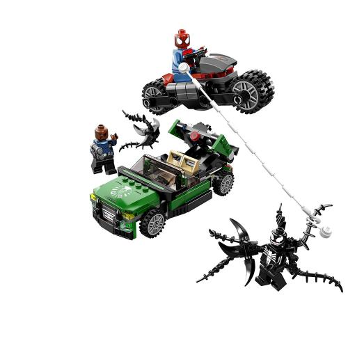 LEGO 76004 Super Heroes Spider-Cycle Chase - Yasuee