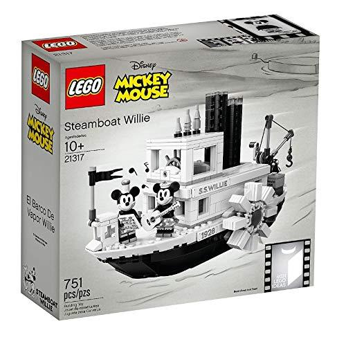 LEGO 21317 Disney Mickey Mouse Steamboat Willie Set - Yasuee
