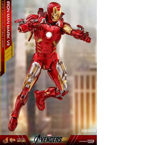 Hot Toys MMS500 Marvel Avengers Iron Man Mark VII Mk 7 Die-Cast Action Figures - Yasuee