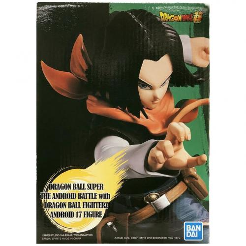 Banpresto Dragon Ball Z The Android Battle & FighterZ Android 17 Figure - Yasuee