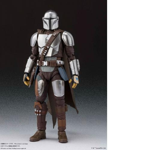 Bandai S.H.Figuarts The Mandalorian (Besker Metal Armor Version) (STAR WARS: The Mandalorian)