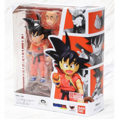 Bandai S.H.Figuarts Son Goku - Boyhood Dragon Ball Z Super SHF