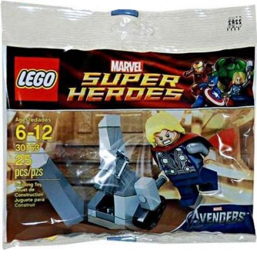 LEGO 30163 Super Heroes Thor and the Cosmic cube - Yasuee
