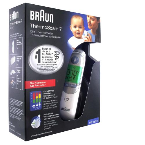 Braun ThermoScan® 7 with AgeSmartTM - IRT6520