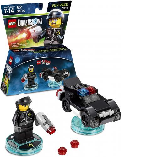 LEGO 71213 LEGO Dimensions The LEGO Movie Bad Cop Fun Pack - Yasuee
