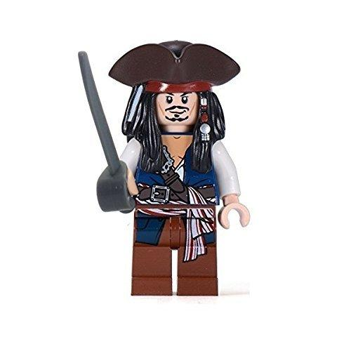LEGO 30133 Pirates of the Caribbean Jack Sparrow minifigure with tricorn rare version - Yasuee