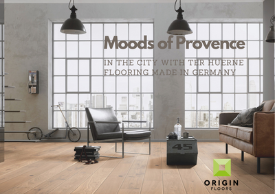 Moods of Provence - Classical wood flooring.