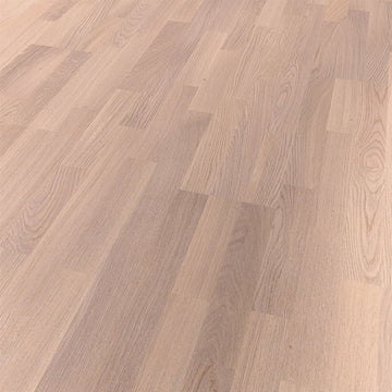 Origin Floor | Base 59 - Oak 1103 3 Strip White Oiled