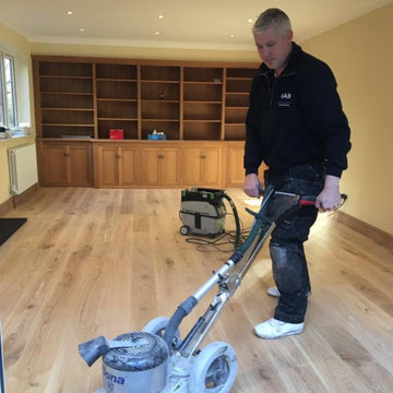 Engineered Wood Flooring Installation ( Stick Down )