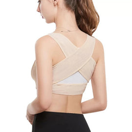 Buy Women Adjustable Posture Corrector Back Support Belt Shoulder Therapy Correction Health Care Body Underwear Shaper Corset
