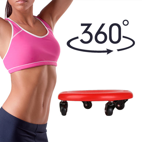 Ab Roller Plate | ab workouts  | UrPosture.com