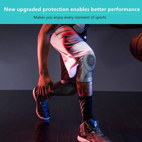 Perfect Silicone Knee Brace | Knee Brace Silicone 2020 | Knee Brace with soft and large Silicone Pad and a double-sided flexible metal stabilizer   fig5