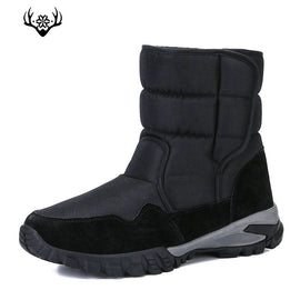 2020 New snow boot winter  thick warm fur insole MD strong outsole for Men