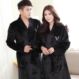 Men Winter Sleepwear Nightwear Casual men's sleep & lounge