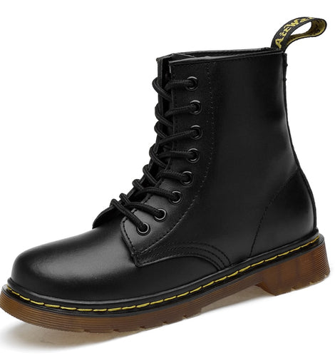 New Men Waterproof Boots Unisex Shoes  Warm Ankle Boots Winter Shoes