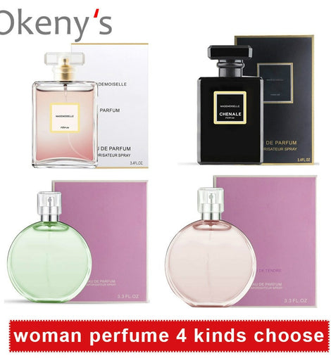 Original Perfume for Women Long Lasting for Female Parfum Natural Perfumed Lady Glass Bottle  Fragrance Atomizer Water 100ML