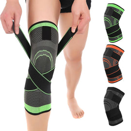 UrPosture Breathable Bandage Knee Brace Professional Protective Sports Knee Pad for Basketball Tennis Cycling